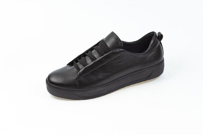Женские кеды черные SAV 106-11