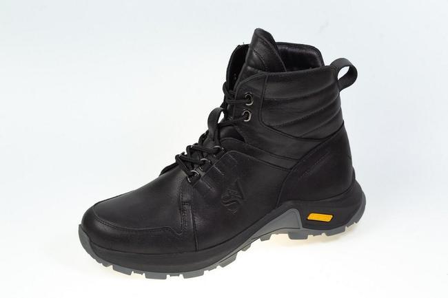 Ботинки черные зимние SAV 145_1