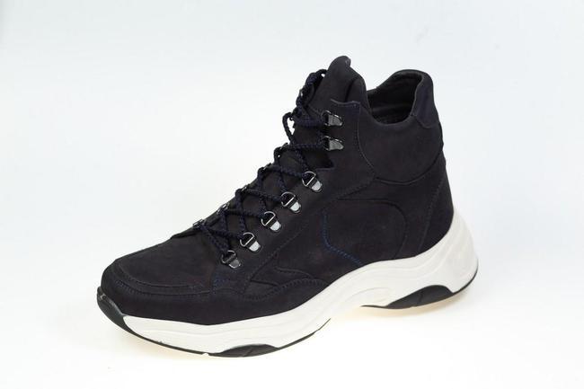 Ботинки черные зимние SAV 149_2