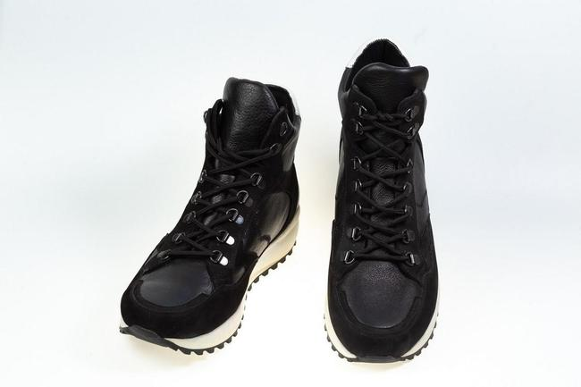 Ботинки черные зимние SAV 149_3