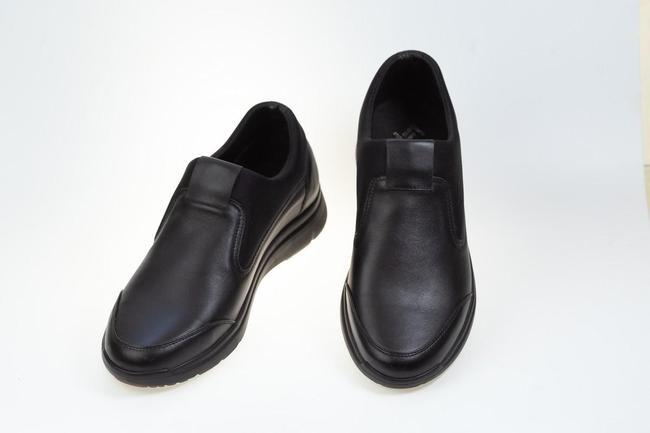 Туфли черные осенние  SAV 196_1