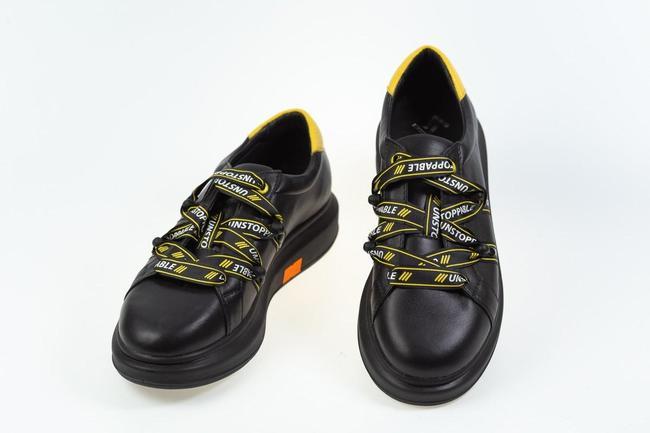 Кеды с желтыми шнурками SAV 2014_2kedy