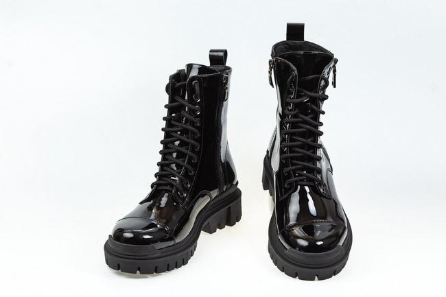 Ботинки лаковые SAV 2131