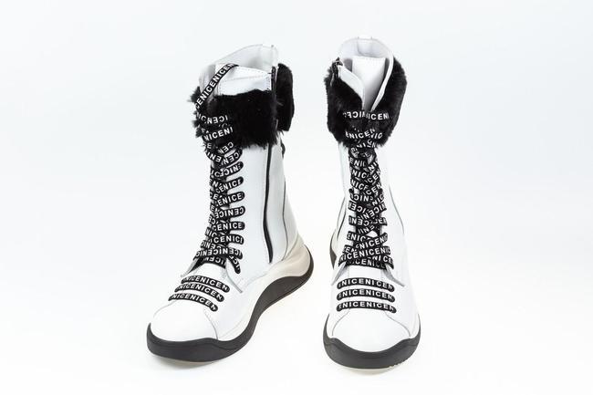 Ботинки белые зимние SAV 2035_1