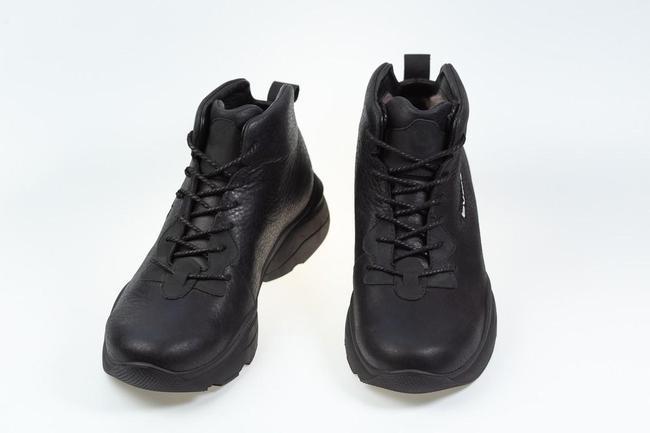 Ботинки-кроссовки черные SAV 2055_3