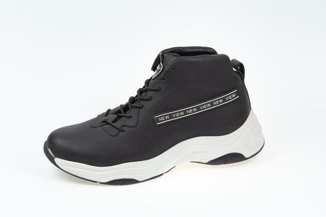 Ботинки-кроссовки черные SAV 2055_4