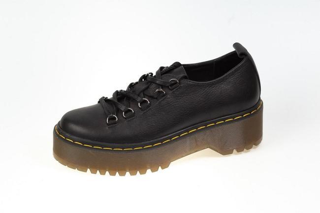 Кроссовки черные на толстой подошве SAV 2058_1