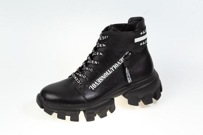 Ботинки черные SAV 2059_3