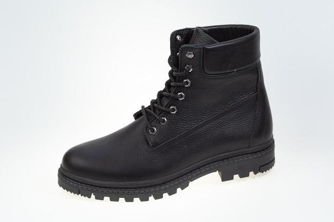 Ботинки черные зимние SAV 205_1