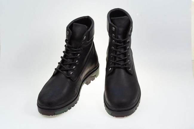 Ботинки черные зимние SAV 205_6_