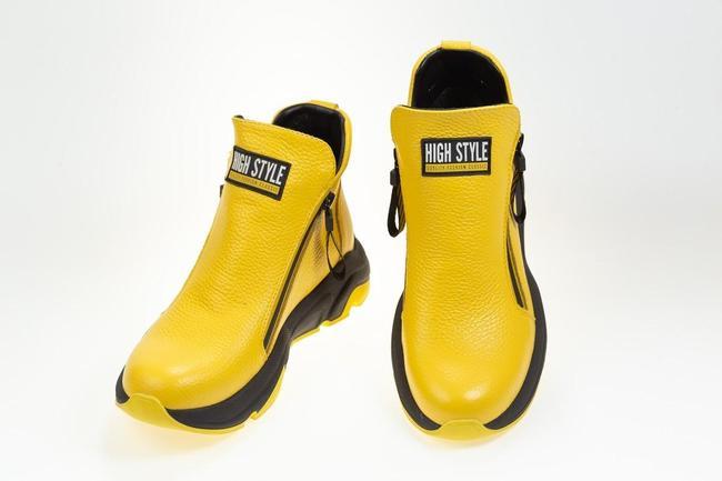 Ботинки желтые осенние SAV 2062_3