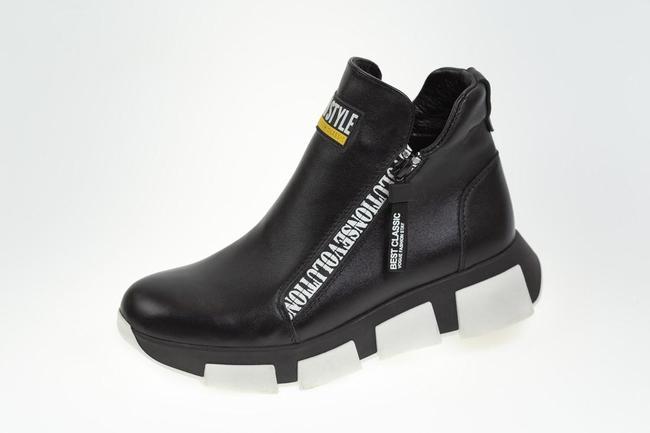 Ботинки  черные SAV 2062_4