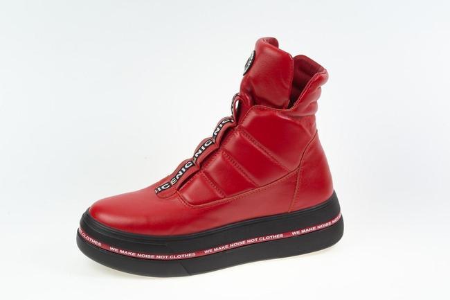 Ботинки красные  SAV 2063_3