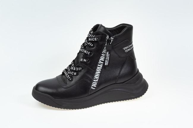 Ботинки черные осенние SAV 2066_1