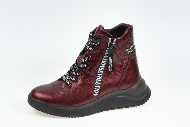 Ботинки бордовые SAV 2066_2