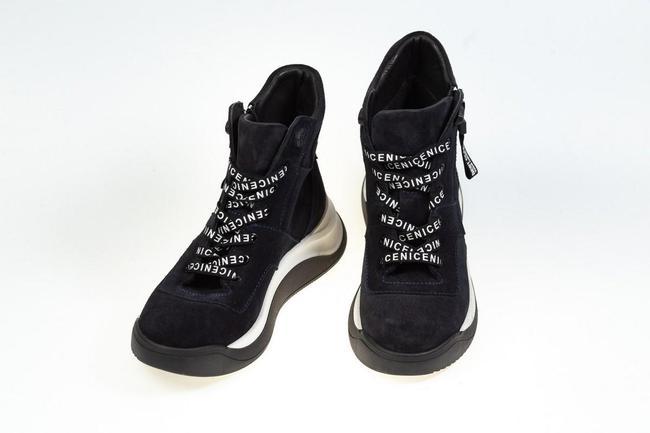 Ботинки черные замшевые SAV 2066_3