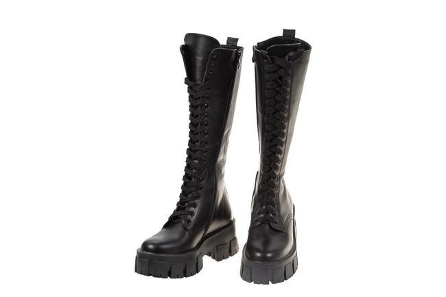 Ботинки высокие на шнуровке SAV 2071_1