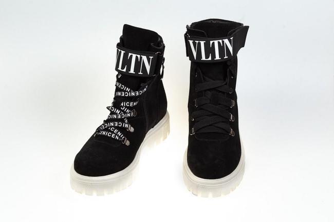 Ботинки-кроссовки черные SAV 2073_1