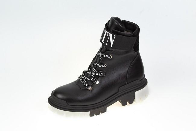 Ботинки-кроссовки черные  SAV 2073_3