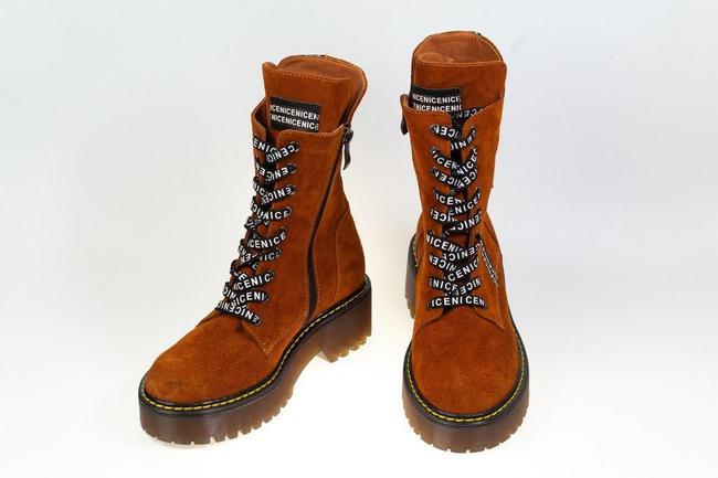 Ботинки-кроссовки замшевые  SAV 2075_5