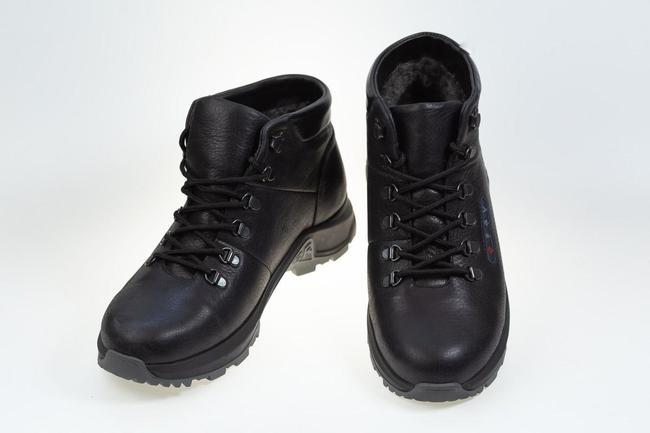 Ботинки зимнее черные SAV 209_2