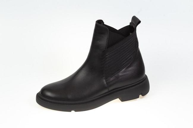 Ботинки черные зимние SAV 2101_2