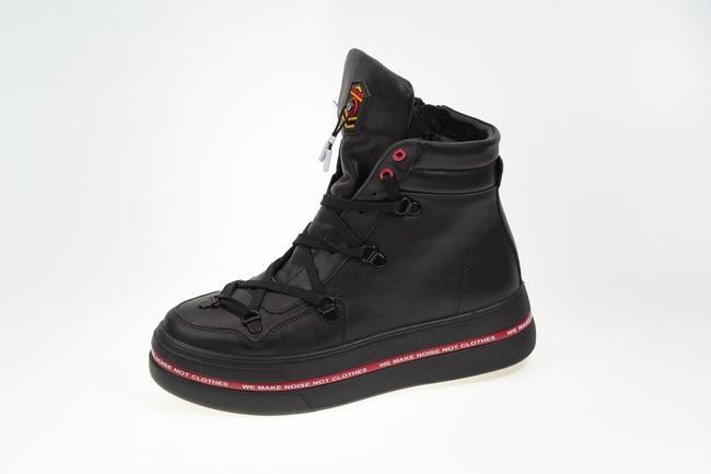 Ботинки-кеды черный модель 2021  SAV 2102