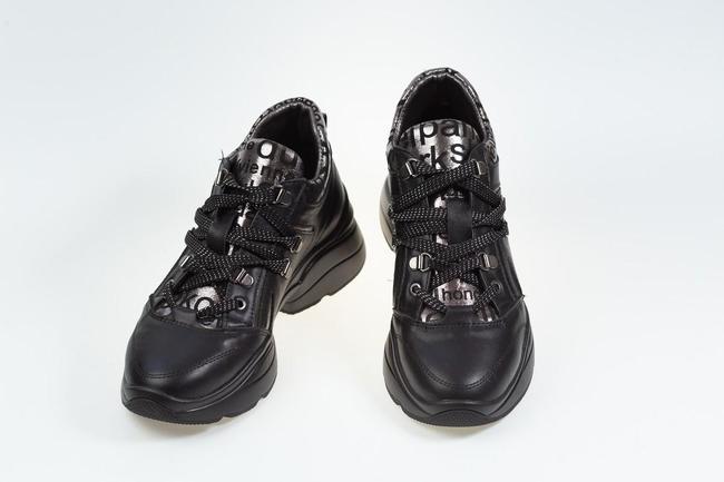 Кроссовки черные  SAV 2105_3