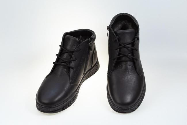 Ботинки черные зимние SAV 550_5