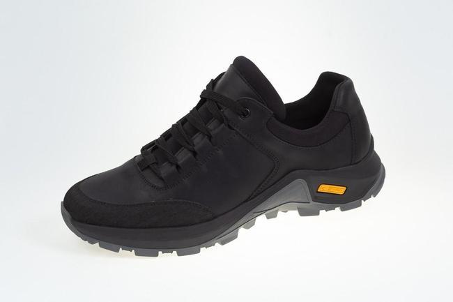Кроссовки черные осенние SAV 6102_1