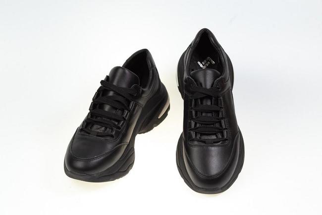 Кроссовки  женские черные SAV 611_2