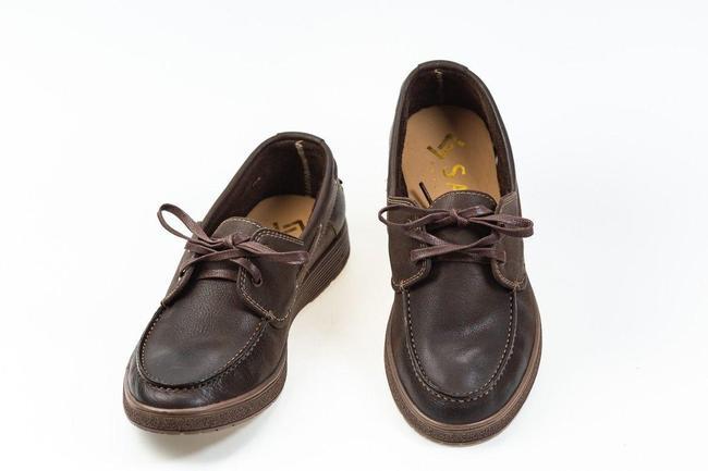 Топсайдеры мужские коричневые SAV 851-3